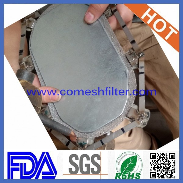 china (factory) stainless steel round filter disc mesh screen
