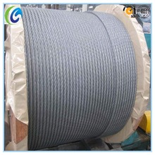 6x19 Steel Wire Rope For Lifting Machine