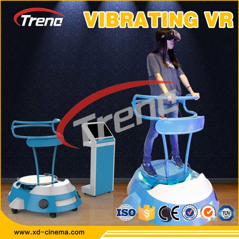 2016 Hong Kong fair motion VR Cinema full vision VR vibrator 9d simulador de cinema
