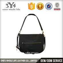 Guangzhou factory New style lady fashion leather hand bag