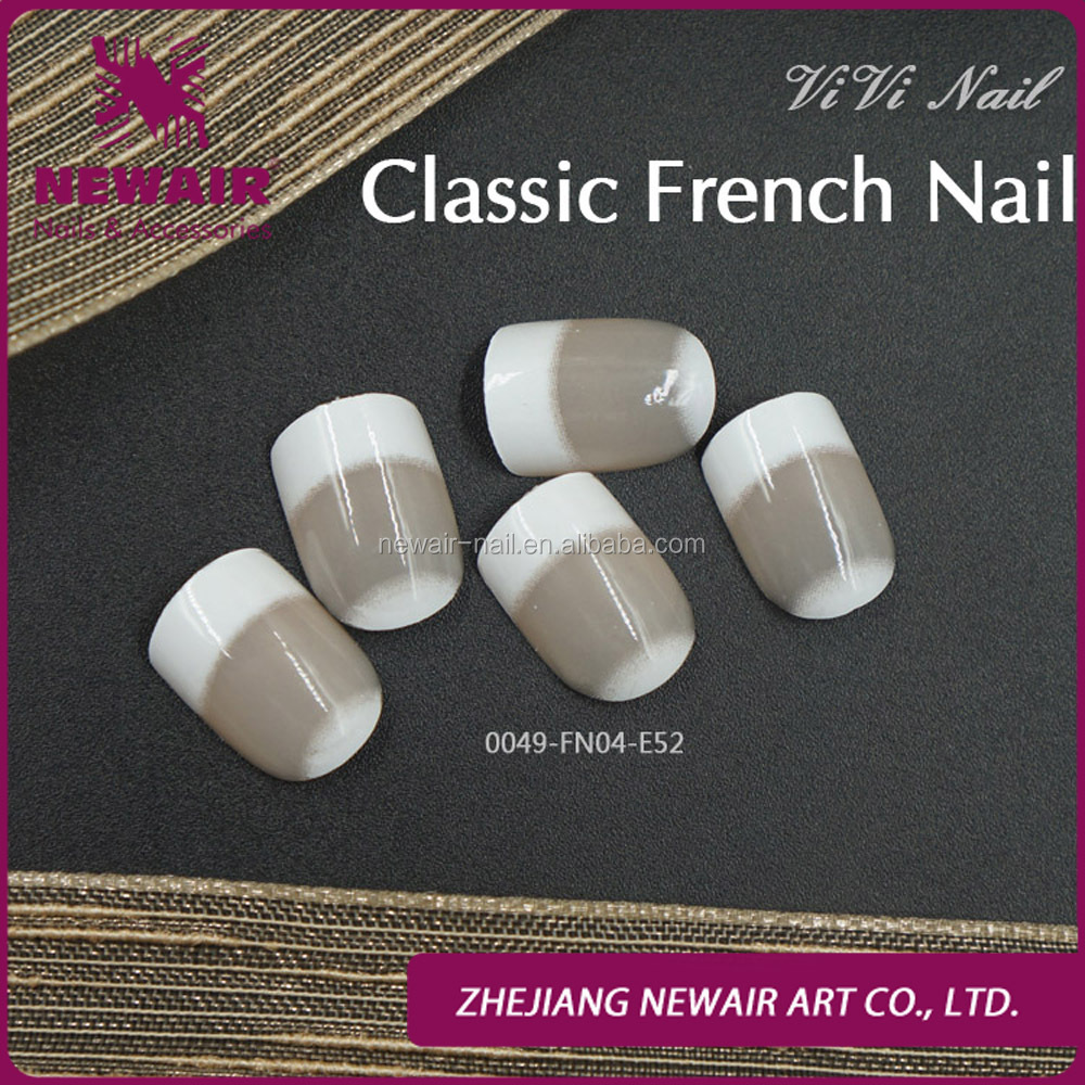 Newair Fashion Acrylic nails french false nails Classic french nails Wholesale