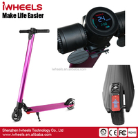 2017 Hot Sale Aluminium Alloy Foldable Adult Two Wheels Mobility Electric Kick Scooter