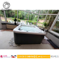 4 person European Style Touch Pedicure Whirlpool Spa