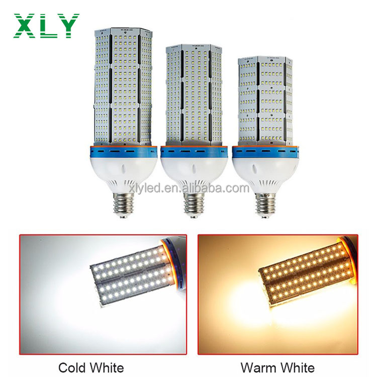 Shenzhen Factory 20W 30W 40W 60W 80W 100W 120W LED Corn Lighting Lamp High Brightness SMD2835 LEDs LED Corn Light Bulb E27 E40