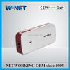 Best seller!! high quality 5200mAh mobile power 3g router