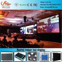 RGX P96 Full color P6 indoor led display rental applied to government units