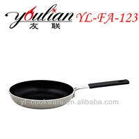 Aluminum Non-stick Ceramic Frypan/Frying Pan cheap& high quality & Walmart Supplier