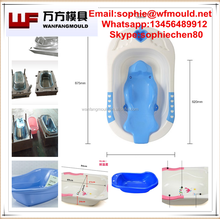 taizhou manufacture supply 2017 baby tub mold/2017 new model plastic injection baby tub mold/mold for baby tub