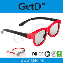 Circular Polarized Disposable Custom RealD 3D Glasses for Cinema or Passive 3D TV