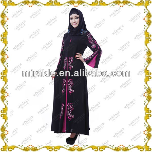 MF20410 black abayas jilbab wholesale.
