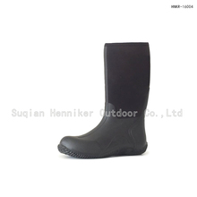 14'' Classic Black Light-weight Neoprene Rubber Boot