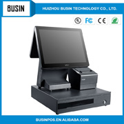 Micros Workstation 4 System Unit Terminal Touchscreen Display POS