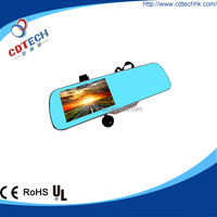 New Hot Touch Screen GPS HD Car Rearview Mirror Camera