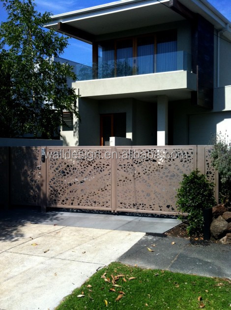 home metal fence gates