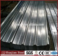 corrugated galvanized steel sheets for roof with 50g/m2 zinc weight , construction material