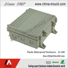 customized precision aluminium waterproof enclosure