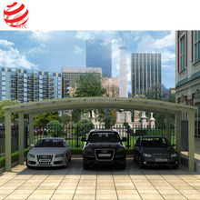 Double Frame Roofing Material Polycarbonate Luxury Carport Canopy