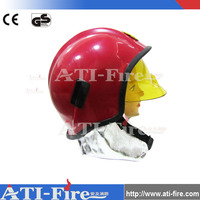 Fire rescue safety plastic fireman's hats