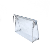Wholesale Clear Makeup Holder Plastic Travel Toilet Cosmetic Bags