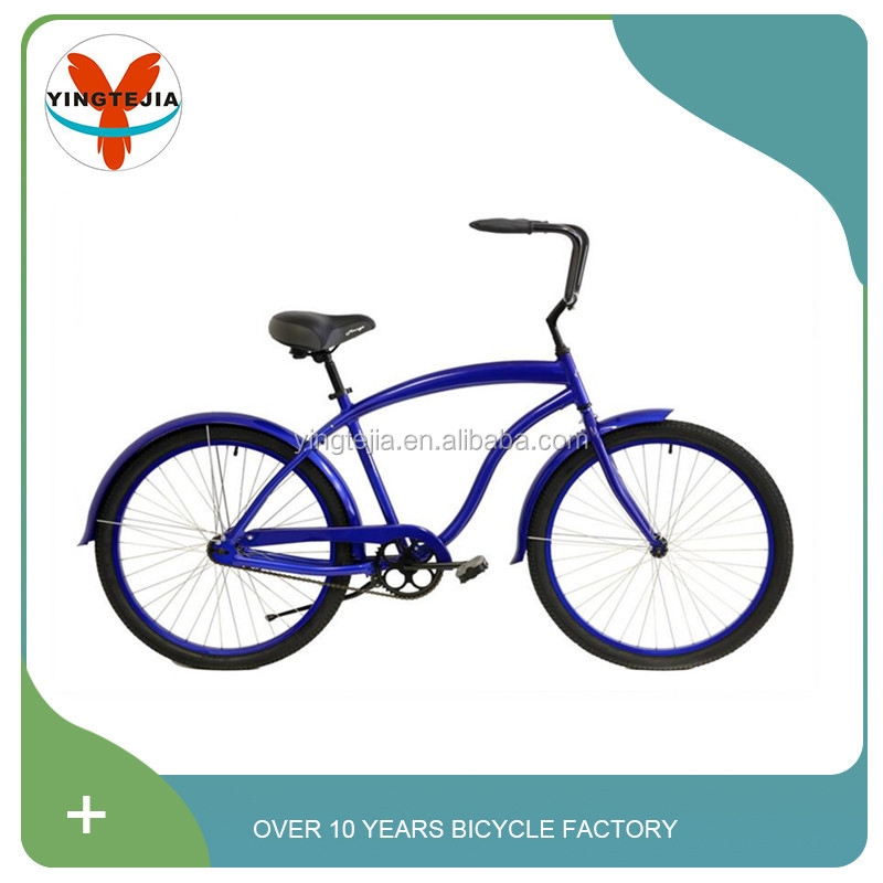 26inch hot selling mens beach cruiser with coaster brake