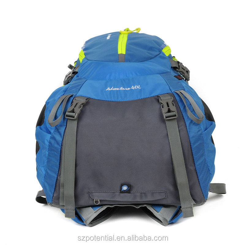 Alibaba Express Softback Type Wholesale Waterproof Nylon Backpack Hiking With Rain Cover