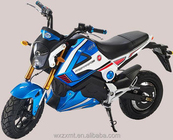 hot sale 5000W electric motorcycle with QS motor/M3/MONKEY