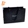 luxury black kraft clothing garment packaging paper bags for clothes