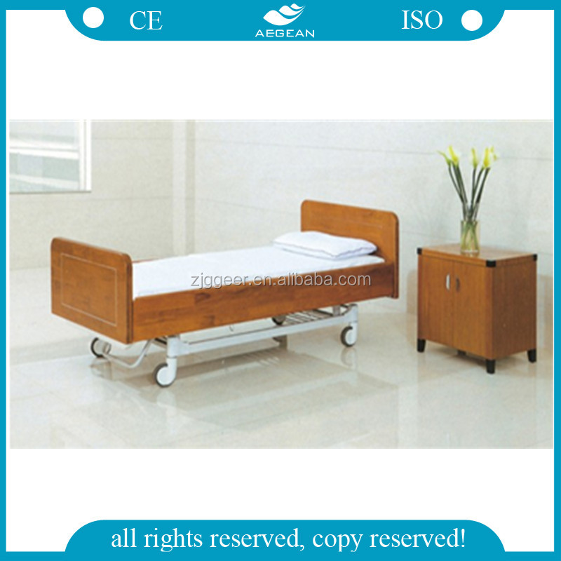 AG-BM203 CE& ISO 2-function electric wood hospital medical furniture