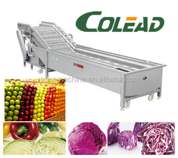stainless steel apple/pear/mango/fruit/vegetable washing/cleaning/processing machine/equipment from Binzhou