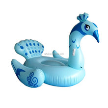 Giant Inflatable Peacock Pool Float Lounger Raft Water Pool Toy Great Fun For Pools, Lakes or the Beach