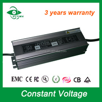 220V to 12v ac/dc waterproof ip67 outdoor led transformer 100w 120w 150w 200w led power supply 12v dc