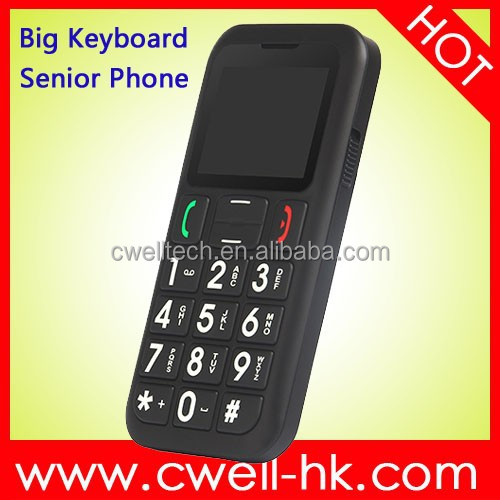 PS-V702 Dual SIM Card SOS One Key Emergency Call GSM Senior Phone