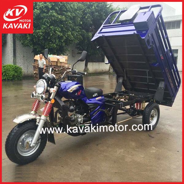 Heavy Duty Cargo Loading 200cc 250cc Sudan Africa Popular Cargo Tricycle Motorcycle