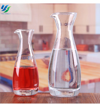 Hand-Painted Glass Decanter Polish Crystal Colored Glass Wine Decanter