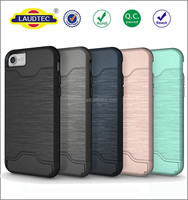 Tough Hard Armour TPU+PC Strong Protective Case Cover for iphone 7,Hard Case With Stand case for iphone 7