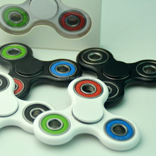 Hot sale High speed multi color tri hand figet spinners toys ceramic desk toys for adults
