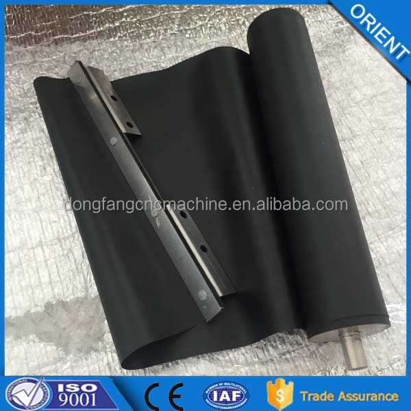 Rolling curtain type protective cover