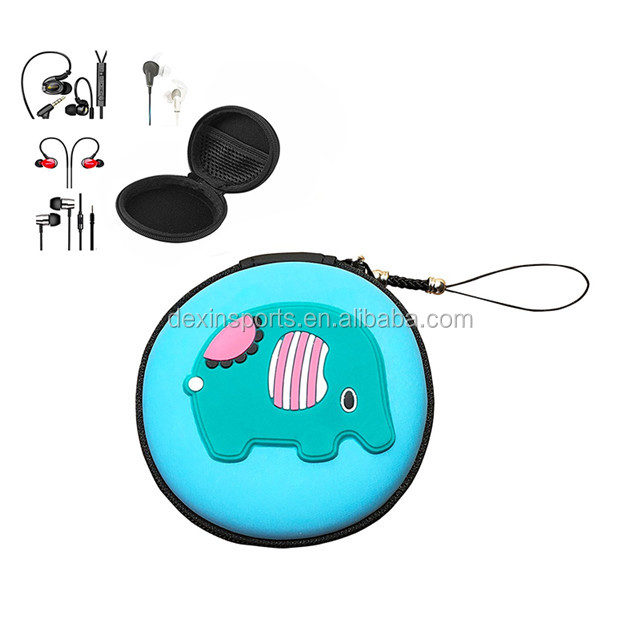 Multi-function Protective Hard Travel Carrying EVA Case Cute Portable Storage Box Bag For Bluetooth/Wired Headset Earphone