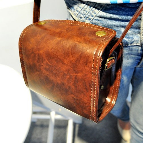 Bz3080 Retro camera style pu fashion women casual bags