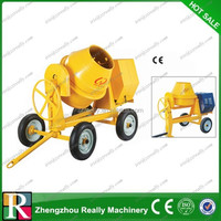 Casting Gear Electric Portable Concrete Mixer With 120l-180l