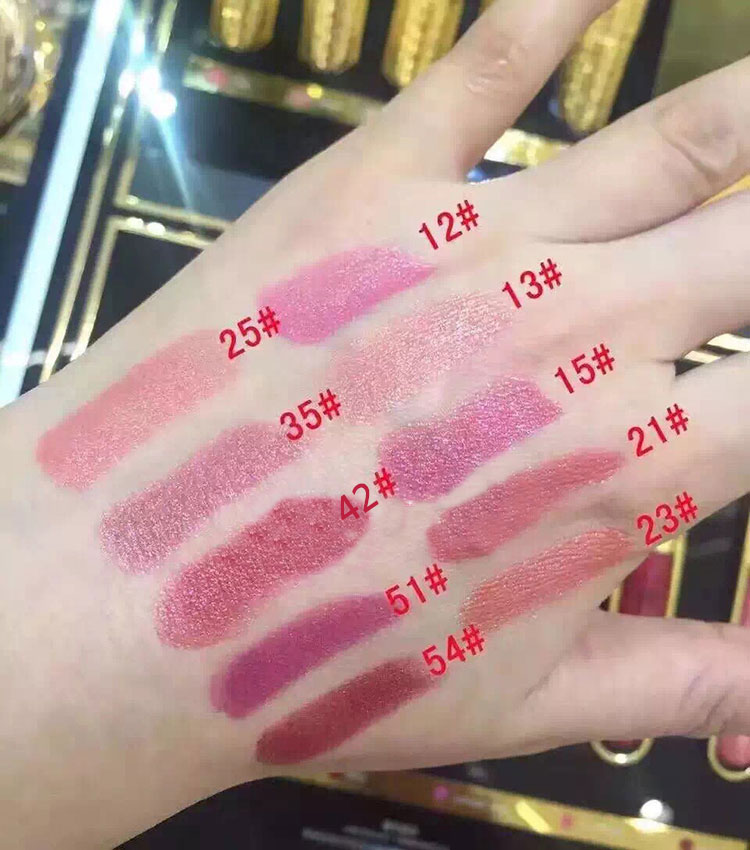 2017 newest anti-aging and moisturizing concubine's kiss of delicate lipstick