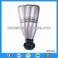 Customized plastic inflatable punching bag, inflatable boxing punching bag, inflatable punching bag for adults