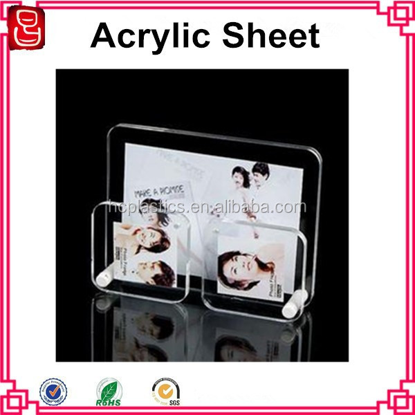 2014 new style acrylic box/cast acrylic sheet/ acrylic photo frame
