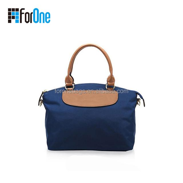 Hot sell fashion cheap korea small canvas ladies handbags