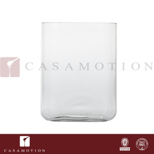 Factory Supply Casamotion Oblong Clear Blown Modern Natural Acrylic Glass Vases for Centerpiece