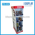 Printed Stable Cardboard Floor Displays Stands for Toy Retail