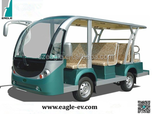 Electric mini Bus, newest generation, cheap high quality, 11 Seater, EG6118KA