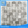 Wooden grey marble decoration mosaic art wall tiles