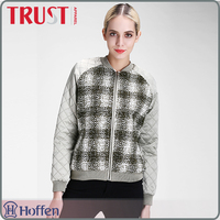 Durable hot sale varsity jacket running women
