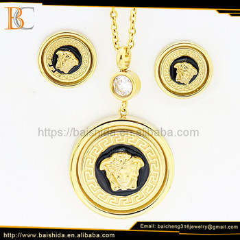 fashion jewelry accesorios venta por mayor animal round resin jewelry set for man boy